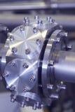 CNC подвергал часть механической обработке тонизированной сини акселераторя ИОНА промышленной Стоковая Фотография