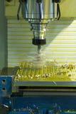 CNC филировальной машины Стоковое Изображение