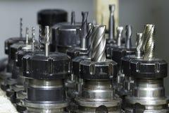 Филируя CNC инструмента стоковая фотография rf