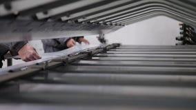 CNC abcant κάμψη φρένων Τύπου απόθεμα βίντεο