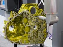 CNC CMM测量的引擎 图库摄影