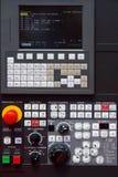 CNC Control. Modern CNC machine control panel Stock Photos