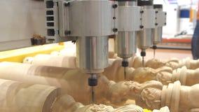 CNC de machine van het malenexemplaar stock videobeelden