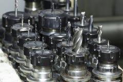 CNC de trituração da ferramenta Imagem de Stock Royalty Free