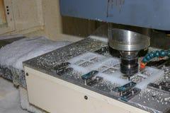 CNC di macinazione capo a macchina Machin fotografie stock