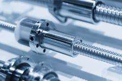 CNC dodatkowe części, piłki śrubowa dodatkowa część Obraz Stock