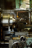 CNC drilling and milling machine Royalty Free Stock Photo