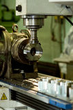 CNC drilling and milling machine Royalty Free Stock Images