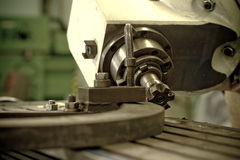 CNC drilling and milling Royalty Free Stock Photography