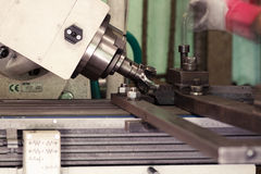 CNC drilling and milling Stock Images