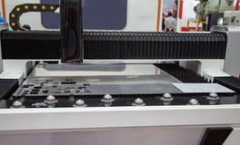 CNC Fiber Laser Cutting Machine stock photography