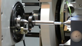 CNC grinding machine. stock footage