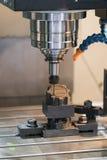 CNC het machinaal bewerken centrum scherpe vorm Royalty-vrije Stock Afbeeldingen
