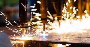 CNC het snijden van LPG royalty-vrije stock afbeelding