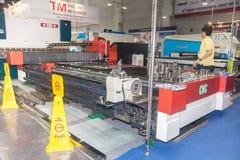 CNC laser. BANGKOK ,THAILAND - MAY 16: CNC laser cutting machines Stock Images