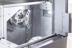 CNC lath maszyna, zdjęcie stock