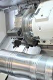 CNC-lathe. Photo of an CNC lathe stock photography