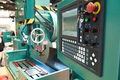 CNC lathe Stock Image
