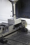 CNC Lathe machine Stock Photo