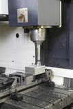 CNC Lathe machine Stock Photos