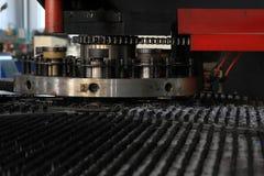 CNC lathe production equipment Stock Image