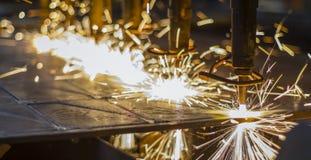CNC LPG cutting Stock Image