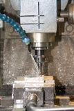 Cnc machine. This photo introduce  milling machine computer controlled Stock Photography