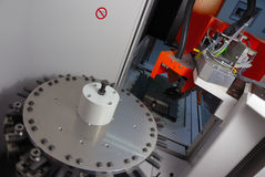 CNC machine Stock Image