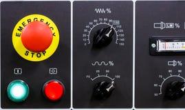 CNC machine control panel Stock Photo