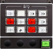 CNC machine control panel Royalty Free Stock Photography