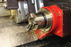 CNC Machine Head Royalty Free Stock Photo