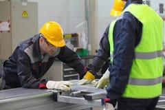 CNC machine shop Royalty Free Stock Photos