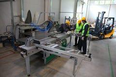 CNC machine shop Stock Photos