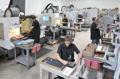 CNC Machine Shop royalty free stock images