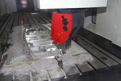 Cnc machine tool Stock Photo