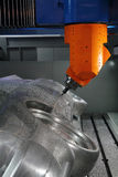 Cnc machine tool Stock Image
