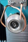 CNC machine tool grinding. Royalty Free Stock Image