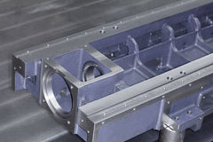 CNC machining center , royalty free stock image