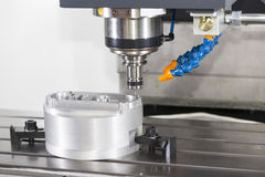 CNC machining center spindle Royalty Free Stock Photography