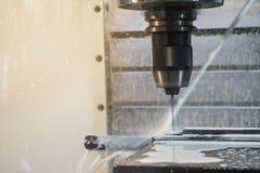 CNC machining centrum dzia?anie zdjęcie stock