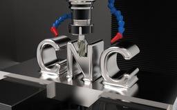 Cnc-malning Arkivfoto