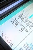 Cnc-Maschine LCD-Bildschirm Lizenzfreie Stockfotos