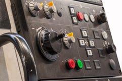 Cnc-Maschinenplatte Stockfotos
