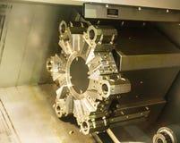 Cnc-maskiner arkivbilder
