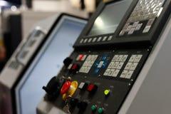 CNC metaalbewerkende machine Royalty-vrije Stock Foto's