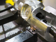 CNC; metal; close up; steel; tool; engineering; process; equipme Stock Photos