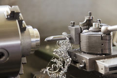 Cnc metal milling machine Royalty Free Stock Photos