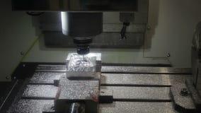 CNC Metal Milling Machine Royalty Free Stock Images