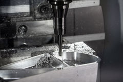 CNC metal processing machine Stock Photos