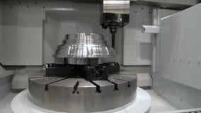 CNC mielenia maszyna produkuje wielki części machining zdjęcie wideo